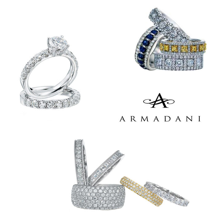 Armadani_Bridal_DeNatale Jewelers_gold_platinum_engagement rings_wedding rings_diamonds