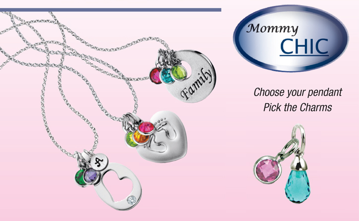Berco_Fashion_DeNatale Jewelers_Mommy Chic_silver jewelry_birthstone_engraveable_diamond_gemstones_Photo Charms_Diamond Dancer_pendants_charms_bracelets_earrings_rings