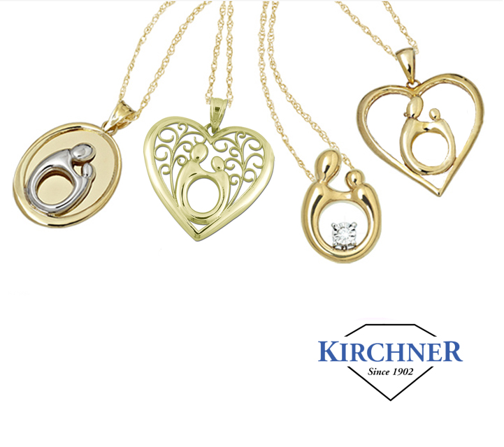 Kirchner_Fashion_DeNatale Jewelers_Mother_Child_bracelets_necklaces_earrings_silver jewelry_gold jewelry