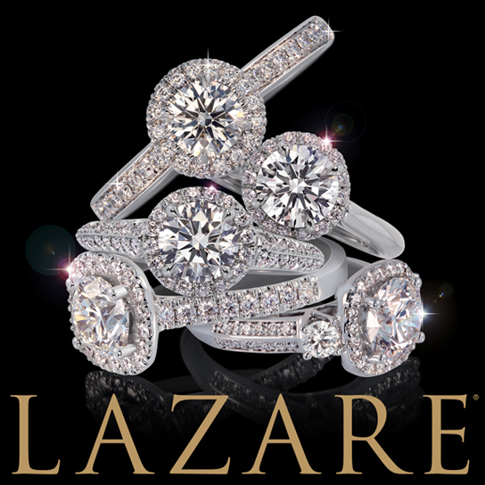 Lazare_Bridal_DeNatale Jewelers_gold_platinum_engagement rings_wedding rings_diamonds