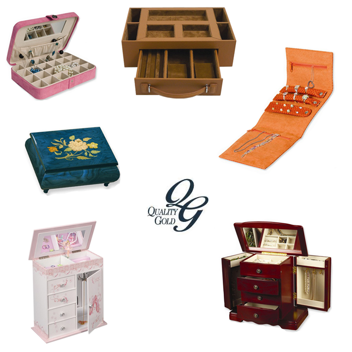 Quality Gold_Giftware_Jewelry Boxes_DeNatale Jewelers_music boxes_chests_valets_folders