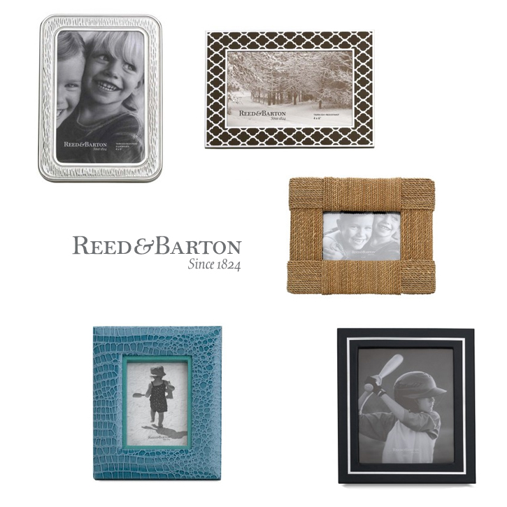 Reed & Barton_Giftware_Frames_DeNatale Jewelers_sterling silver_silvertone_silver plate_leather_wood
