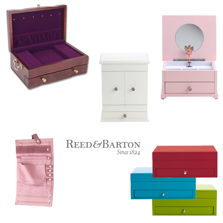 Reed & Barton_Giftware_Jewelry Boxes_DeNatale Jewelers_music boxes_chests_valets_folders