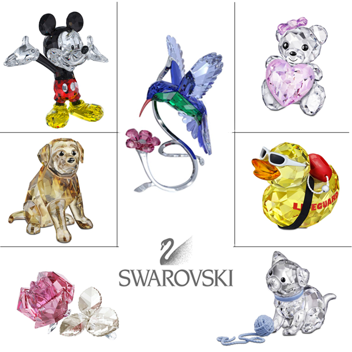 Swarovski_Giftware_Figurines_DeNatale Jewelry_crystal_silver crystal_Disney_Kris bear_SCS_collector