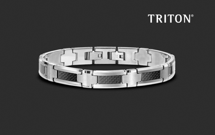 Triton_Men's_DeNatale Jewelers_tungsten carbide_stainless steel_titanium_sterling silver_cobalt_necklaces_bracelets_rings_money clips_tie tacks_cufflinks_diamonds