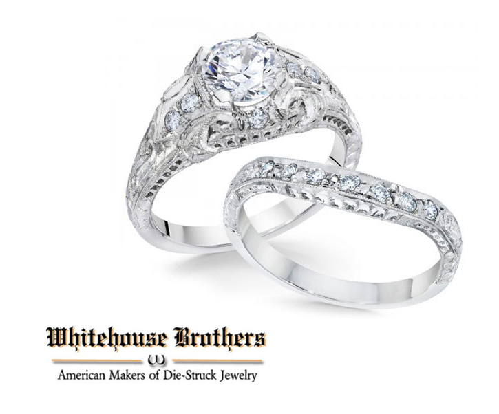 Whitehouse_Bridal_DeNatale Jewelers_gold_platinum_engagement rings_wedding rings_diamonds