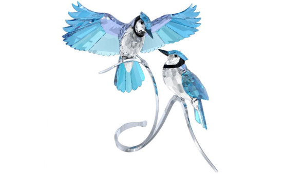 Swarovski blue jays