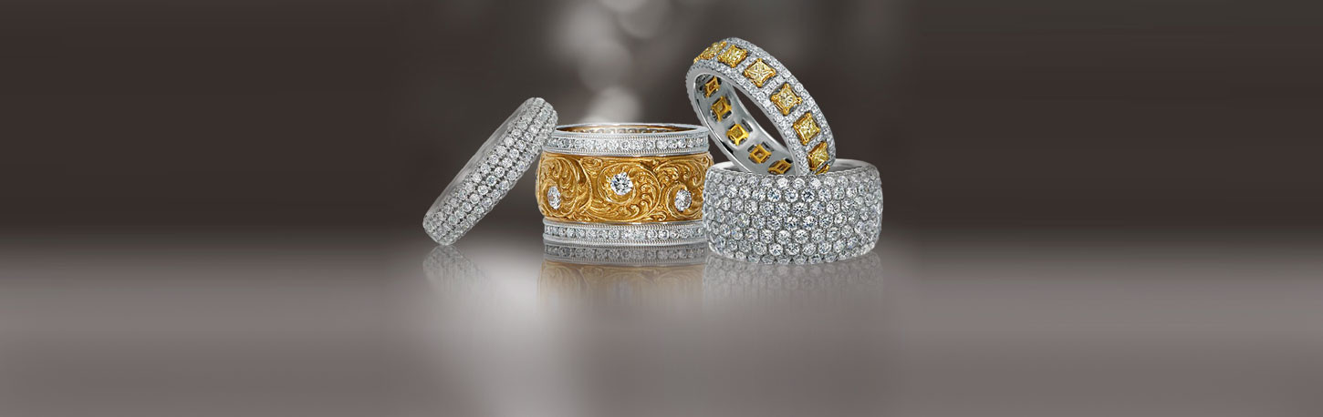 Armadani wedding rings
