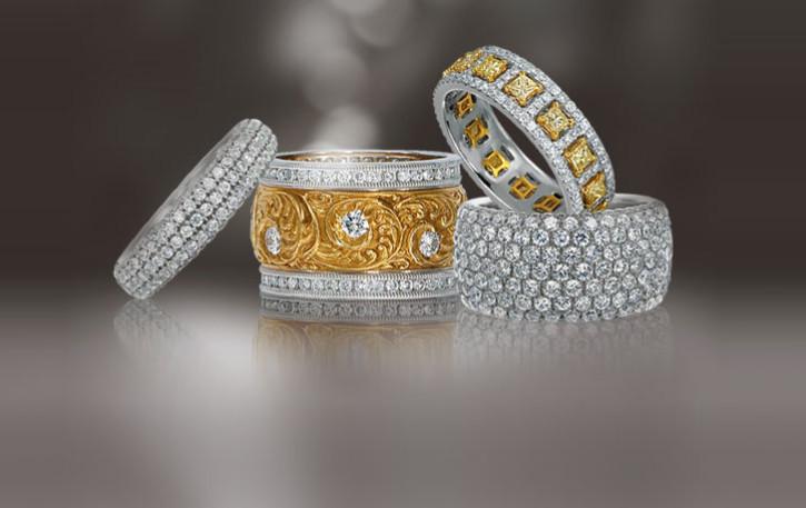 Armadani wedding rings
