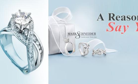 Mark Schneider engagement rings