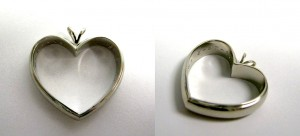 Custom work_Richard Randolph_BlaseDeNatale Jewelers_wedding band_necklace_heart shaped_keepsake