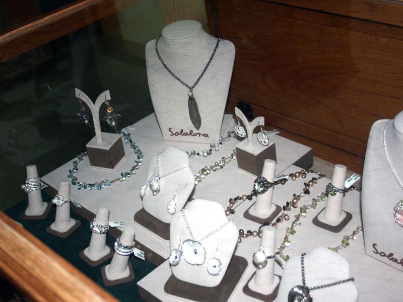 Solaluna jewelry display
