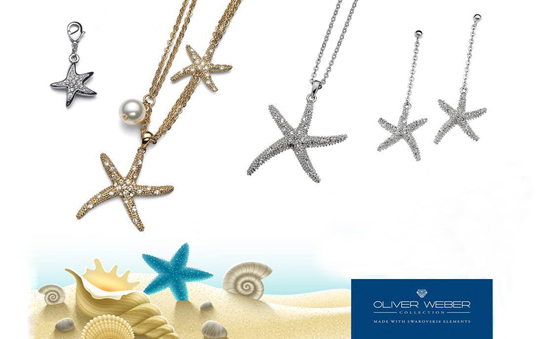 Oliver Weber starfish necklaces