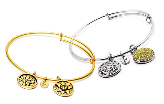 Chrysalis citrine & November bracelets