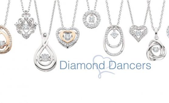 Berco diamond dancer pendants