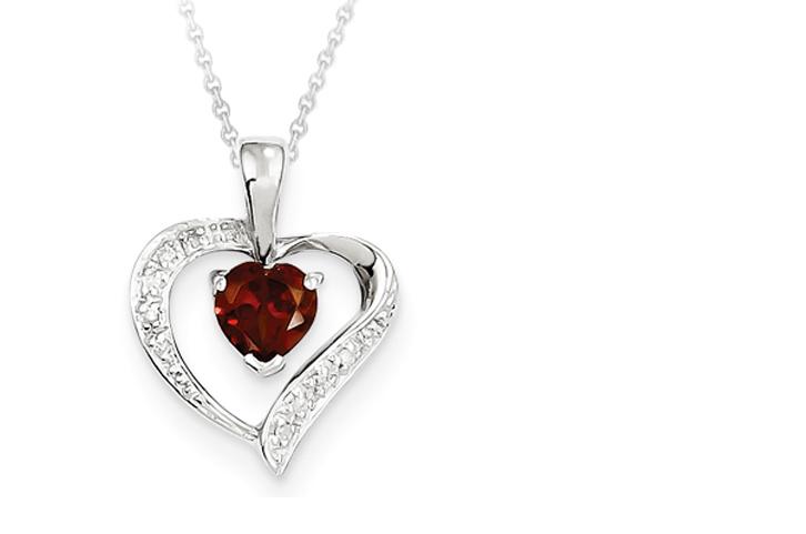 Garnet pendant blase denatale jewelers garnet pendant mozeypictures Images