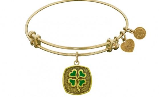 Angelica 4 leaf clover bracelet