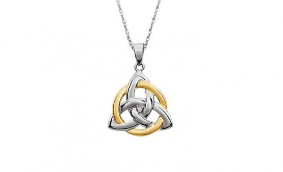 Stuller Celtic knot pendant