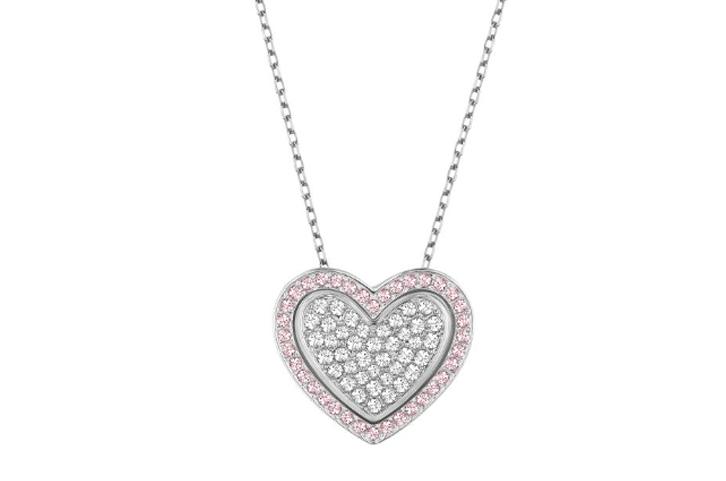 Swarovski heart pendant blase denatale jewelers swarovski heart pendant mozeypictures Images