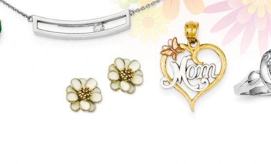 Quality Gold Mother's Day jewelry
