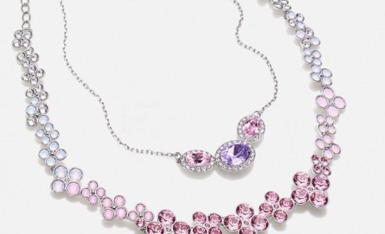 Swarovski mother's day necklaces