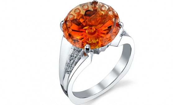 Mark Schneider citrine ring