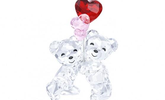 Swarovski Kris bear balloons
