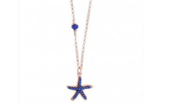 Gregio starfish necklace