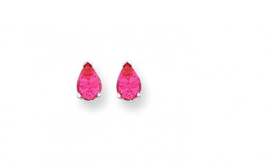 Spinel earrings