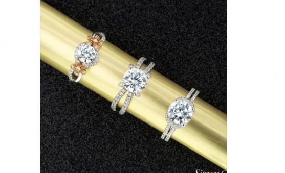 Simon G diamond rings