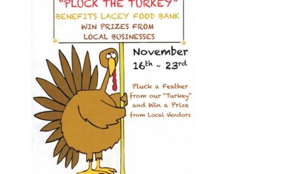 pluck the turkey