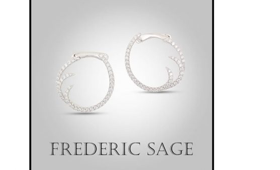 fred Sage diamond earrings