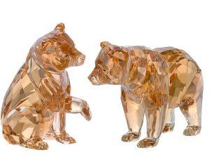 Swarovski bear cubs