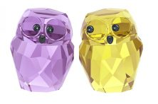 Swarovski crystal owls