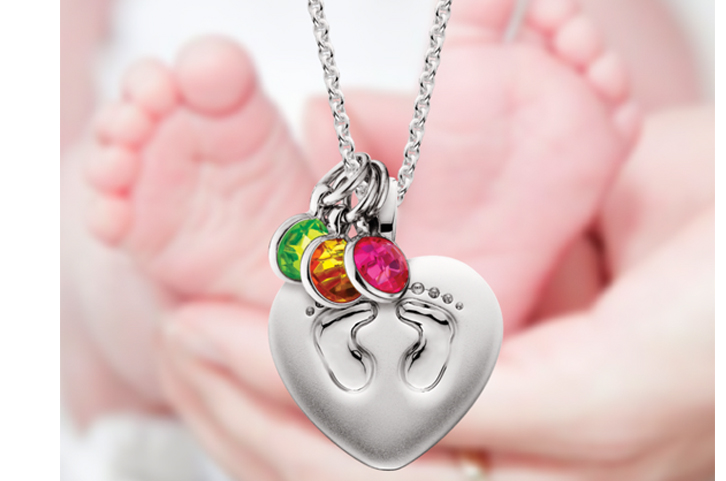 Mommy chic blase denatale jewelers mommy chic mommy hicfootprints pendant aloadofball Image collections