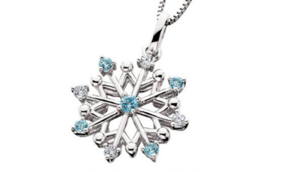 Aspire snowflake pendant