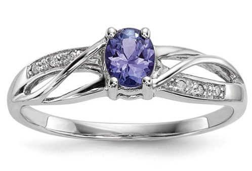 QG tanzanite ring