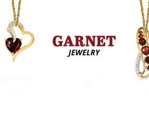 Garnet jewelry