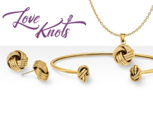 love knots-Quality Gold